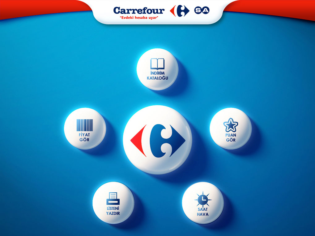 Carrefour Kiosk Application Design