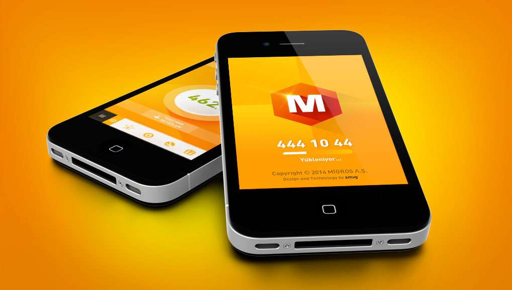 Migros mobile application