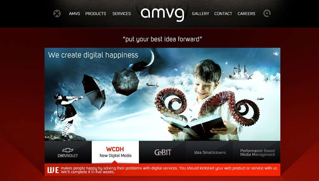 amvg Web Site Design
